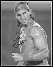 Rafael Nadal, Autographed, Cotton Canvas Image. Limited Edition (RN-409)x