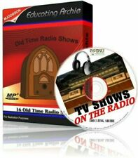 EDUCATING ARCHIE - COMEDY CD OLD TIME RADIO SHOWS 16 EPISODES AUDIO MP3