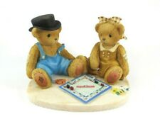Cherished Teddies - Jerald & Maryann 'What Would Game Night Be.' 2000 #811742