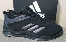 Adidas Mens Speed Trainer 4 Baseball Turf Shoe CG5135 Black/Carbon New Size 12.5