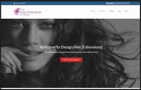 HAIR EXTENSIONS Website Earn $256 A SALE FREE Domain FREE Hosting FREE Traffic