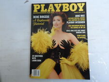 PLAYBOY MARCH 1993 MIMI ROGERS KIMBERLY DONLEY ANNE RICE (713)