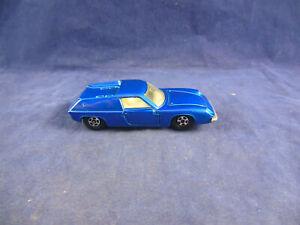 Scarce Matchbox Superfast MB - 5 Lotus Europa Metallic Blue MINT Narrow wheels
