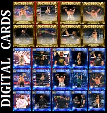 Topps SLAM WWE SUPERSTAR SPOTLIGHT SET ROLLINS [ SET 23 CARDS SIGNATURE/BASE ]