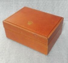 ROLEX - VINTAGE - ORANGE LEATHER WATCH BOX - ULTRA RARE - 60´S - OFFERS WELCOME
