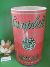 Vase 30 cm Red Campbell s Soup Andy Warhol by Rosenthal