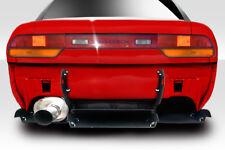 1989-1994 Fits Nissan 240SX S13 HB Duraflex RBS V3 Rear Diffuser -1 Piece 113874