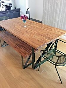 Oak Dining Table & Benches | Solid 40mm Oak | All Sizes Custom Made | Bespoke