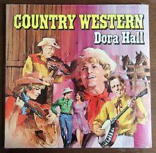 SEALED! - DORA HALL - Country Western - 1970 Vintage Vanity Album - Solo Cup