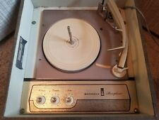 Vintage Retro Motorola Stereophonic Model SP43N Phonograph Record Playr Tube AMP