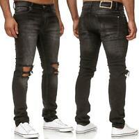 Herren Jeans Denim Hose Regular Fit Jeanshose Mens Pants Redbridge Destroyed NEW