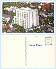 Aerial View Ohio Bell Telephone Building Dayton Ohio Postcard