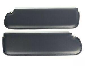 Pair Black Sun Visor Pads For 1967-72 Chevy / GMC Pickup Trucks