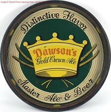 1930s New Bedford Massachusetts Dawson'S Gold Crown Ale 13 inch Tavern Trove