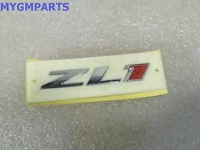 """CHEVY CAMARO CHROME/RED """"ZL1"""" GRILLE EMBLEM NEW OEM  22830717"""