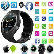 Man Women Smart Watch Bluetooth SIM MP3 Camera Business Bracelet For IOS Android