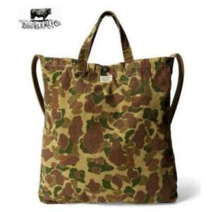 RRL Camouflage Tote Bag Double RL Camouflage Ralph Lauren F/S