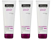 3 x TRESEMME 250mL YOUTH BOOST CONDITIONER RECHARGES YOUTHFUL FULLNESS Brand New