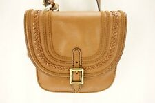 NEW FOSSIL Saddle Bag Brown Leather Purse