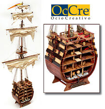 """Beautiful, brand new model kit by Occre: the """"Santisima Trinidad"""" cross-section"""