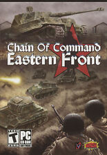 CHAIN OF COMMAND EASTERN FRONT - Strategy WWII Combat Sim RTS PC Game NEW in BOX