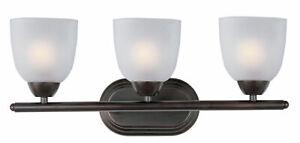 Maxim Lighting 11313FT0I Oil Rubbed Bronze 3 Light Vanity