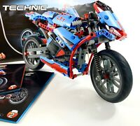 LEGO Technic 42036 - Street Motorcycle - COMPLETE WITH INSTRUCTIONS + BOX