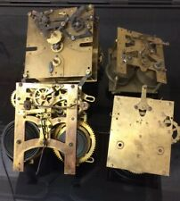 4 CLOCK MOVEMENTS FOR SPARES AND REPAIRS