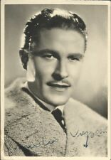 Amedeo Nazzari - Autografo su foto anni '40