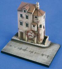 Verlinden 1/72 Village Street Corner Secton Diorama Base [Resin Model kit] 2127