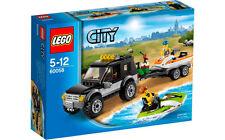 Lego City Town 60058 SUV with WATERCRAFT Jet Ski Trailer Minifigs NISB Xmas Gift