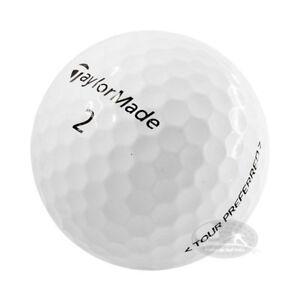 4 DZ Taylor Made Tour Preferedx 48 palline da golf usate 4/5 Stelle (AAAPEARL)