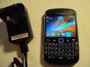 ORIGINAL BlackBerry 9900 Bold Touch Cellular QWERTY Keyboard 3G UNLOCKED