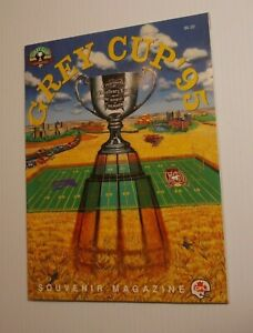1995 GREY CUP Program CFL RARE Baltimore Stallions Calgary Stampeders
