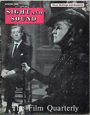 SS59-28-2 SIGHT AND SOUND 1959 British Cinema SERGEI EISENSTEIN UK MAGAZINE