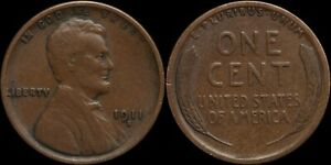 1911-S Lincoln Wheat Cent - Semi Key Date
