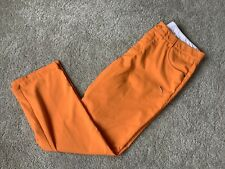 Puma Sport Lifestyle Premium Golf Pants (34 x 30, Orange, Polyester)