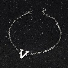 KPOP Bangtan Boys V Name Letter Stainless Steel Bracelet Adjustable Bracelet