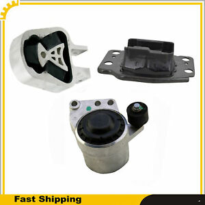 Engine Motor & Trans Mount Set 3Pcs For Ford Fusion Lincoln MKZ 13-17 2.0L Turbo