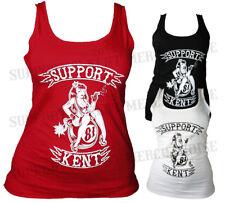 SUPPORT 81 KENT HELLS ANGELS ENGLAND Ladies Womens Vest Tank Top BIG RED MACHINE