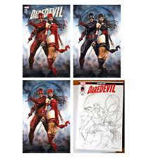DAREDEVIL 600 Variant Virgin Cover + Original Art Sketch Cover Comic Book Set