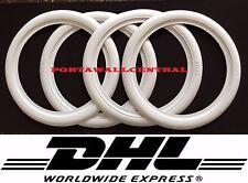 "18"" car tire White Wall Portawall Insert Tyre trim set .hot car street car.."