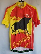 Tvsss Cycling Jersey Espana Short Sleeve Zip Up Double Sided S Toro