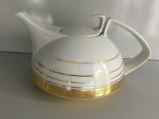 Rosenthal TAC Dynamic  Gold TEEKANNE I. WAHL Gropius Tea Pot