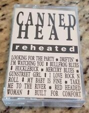 Canned Heat - Reheated - Extremely Rare Promo Only Cassette - NM Condition