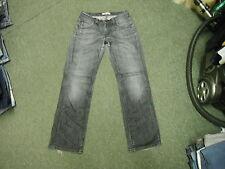 "Levi's 494 Loose Fit Jeans Waist 29"" Leg 32"" Black Faded Ladies Jeans"