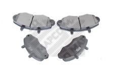 Bremsbelagsatz, Scheibenbremse für Bremsanlage Vorderachse MAPCO 6380