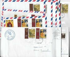 Greece ,Mount Athos,Collection Of Traveled Covers ,Collection No 6