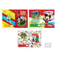 Cuaderno Paquete 10 Piezas Maxi Cuaderno A4 Disney Mickey Mouse 1 Fila 3372