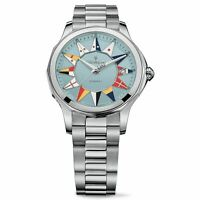 CORUM ADMIRAL LEGEND 38 BlUE DIAL AUTOMATIC STAINLESS STEEL WATCH 082.200.20/V20